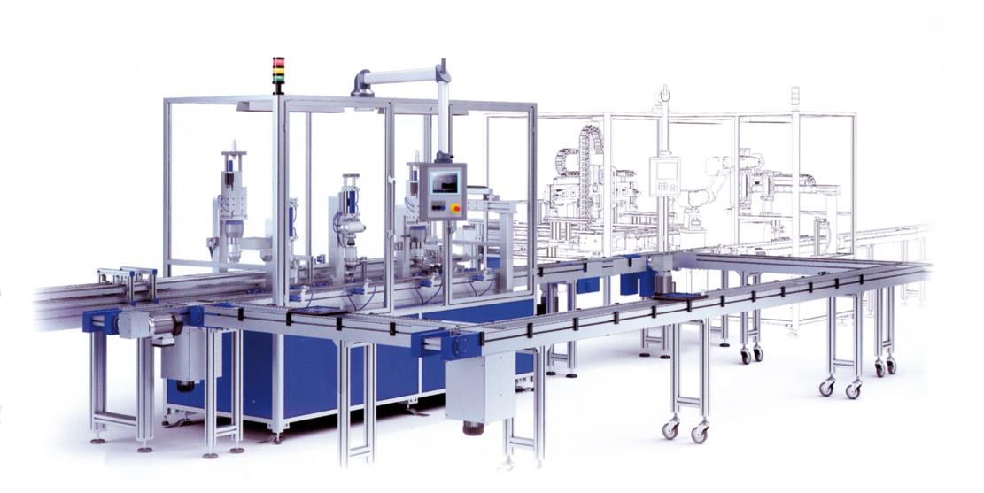 Montagetechnik Transfertechnik, Handhabungstechnik Prüftechnik