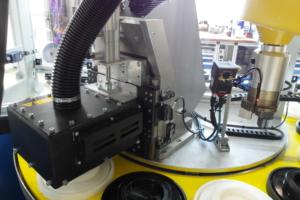 Robotik FANUC Scara Laserbeschriftung